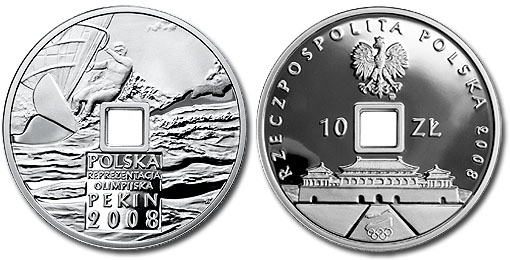 Poland 2008 Olympic Coin 2