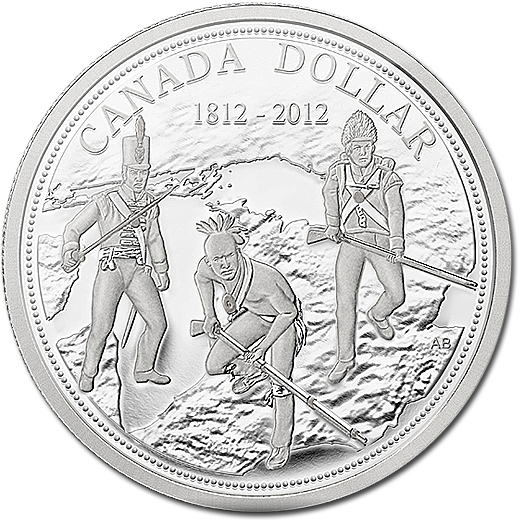The 200th Anniversary of the War of 1812 Silver Proof Coin from Canada